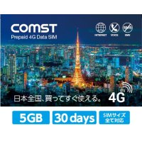 COMST 5GB 30daysプラン