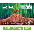 COMST 3GB 30daysプラン